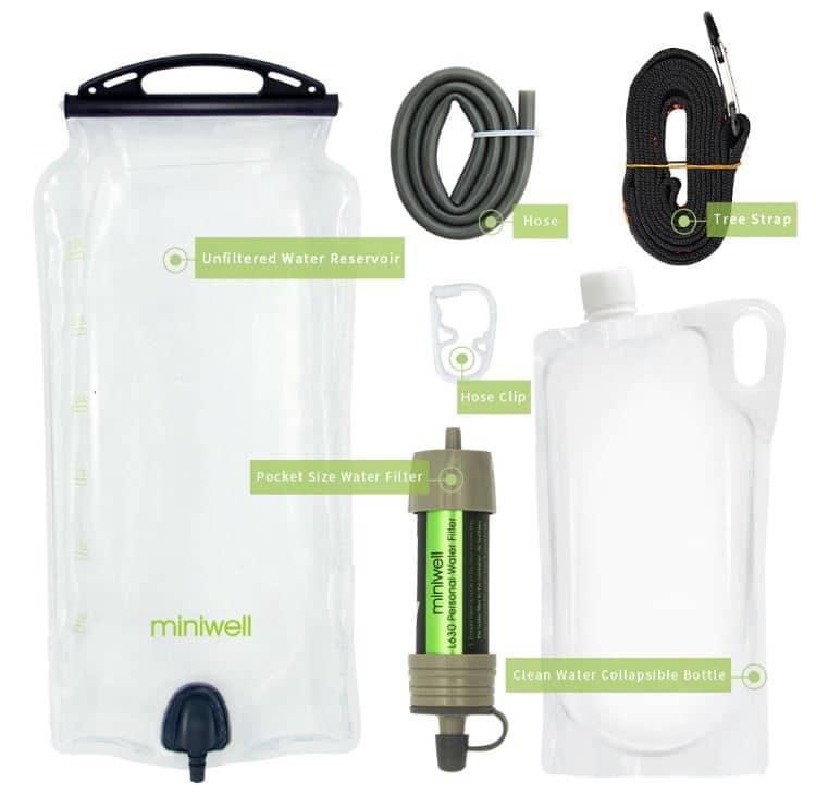 Purificateur d'eau portable avancé