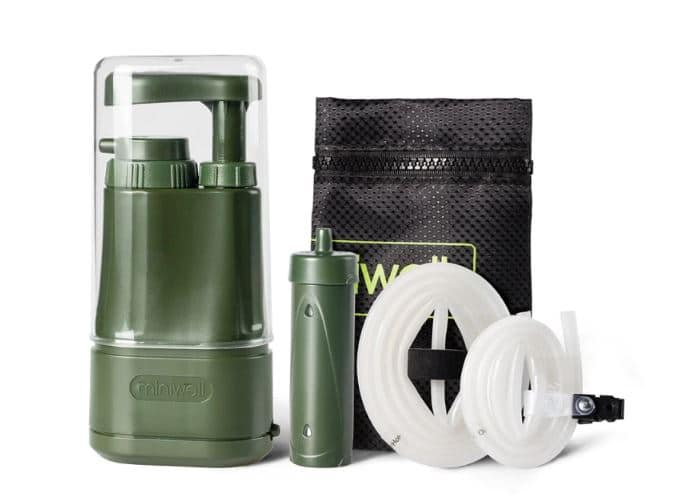 Purificateur d'eau de survie portable