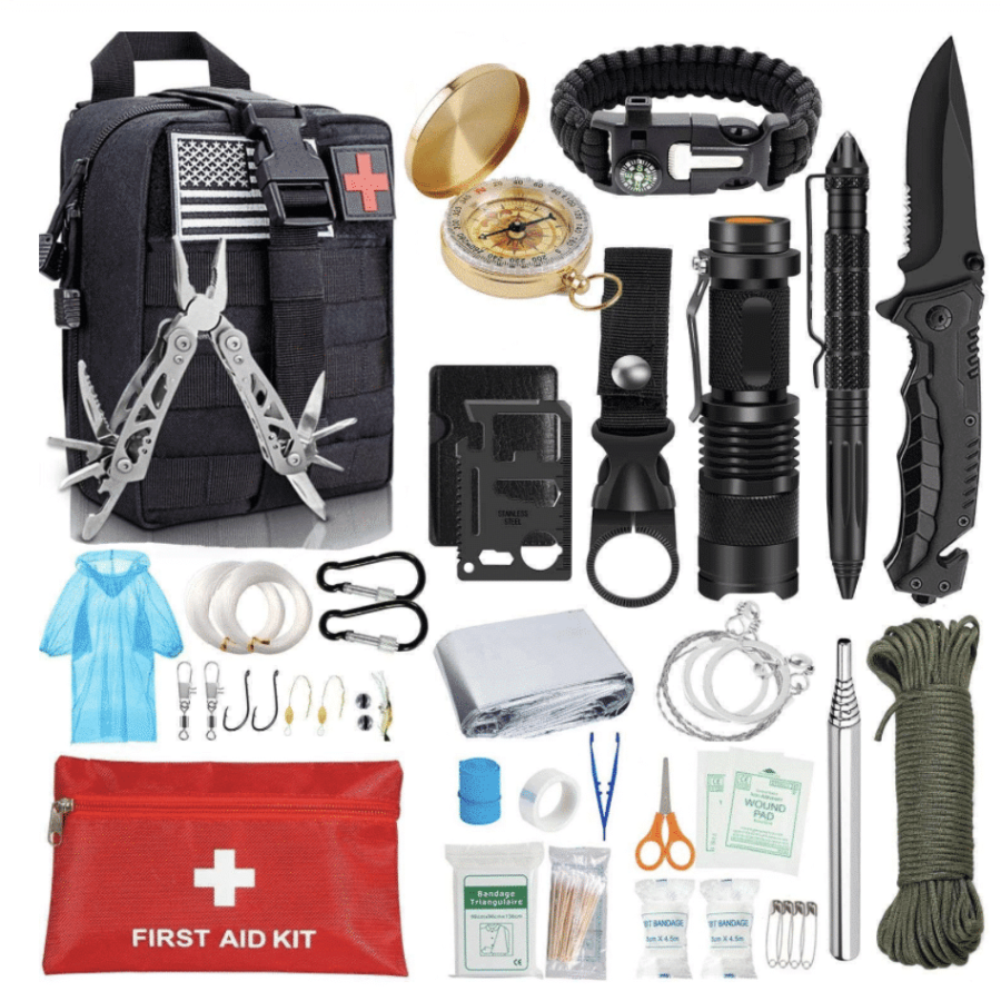 Kit de survivaliste complet