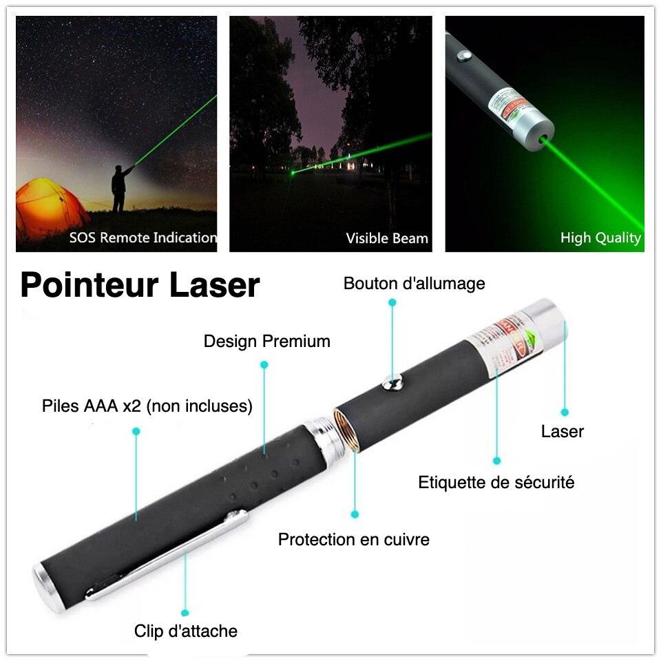 pointeur laser du kit de survivaliste débutant